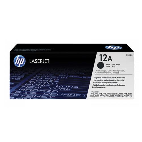 HP 12A Black Original LaserJet Toner Cartridge price in hyderbad, telangana