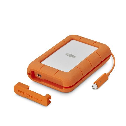 LaCie Rugged 2TB USB C Thunderbolt Hard Drive price in hyderbad, telangana