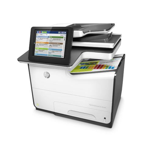 HP PageWide Enterprise Color MFP 586dn Printer price in hyderbad, telangana