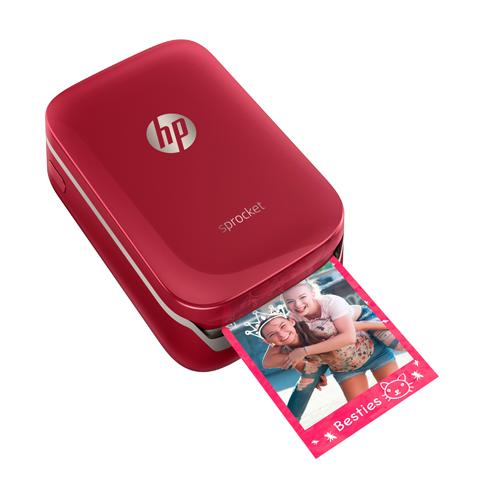 HP Sprocket Photo Printer Red price in hyderbad, telangana