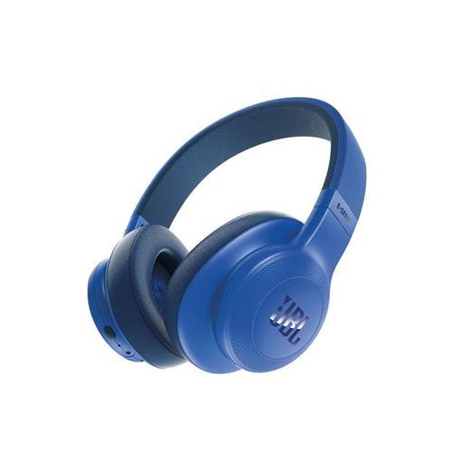 JBL E55BT Blue Wireless BlueTooth Over Ear Headphones price in hyderbad, telangana