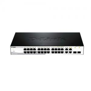 D Link 24 Port Web Smart III PoE Switch price in Hyderabad, telangana, andhra