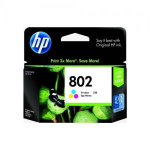 HP 802 CH564ZZ Tri color Ink Cartridge price in Hyderabad, telangana, andhra