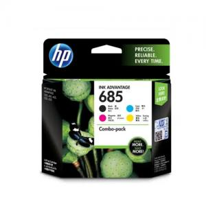 HP 685 F6V35AA CMYK Ink Cartridges Combo 4 Pack price in Hyderabad, telangana, andhra