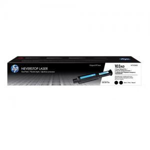 HP 103AD W1103AD Black Neverstop Dual Pack Toner Cartridge price in Hyderabad, telangana, andhra