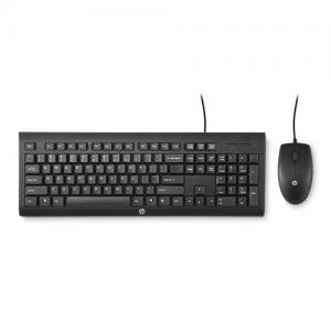 HP C2500 Wired Combo keyboard and Mouse Black price in Hyderabad, telangana, andhra
